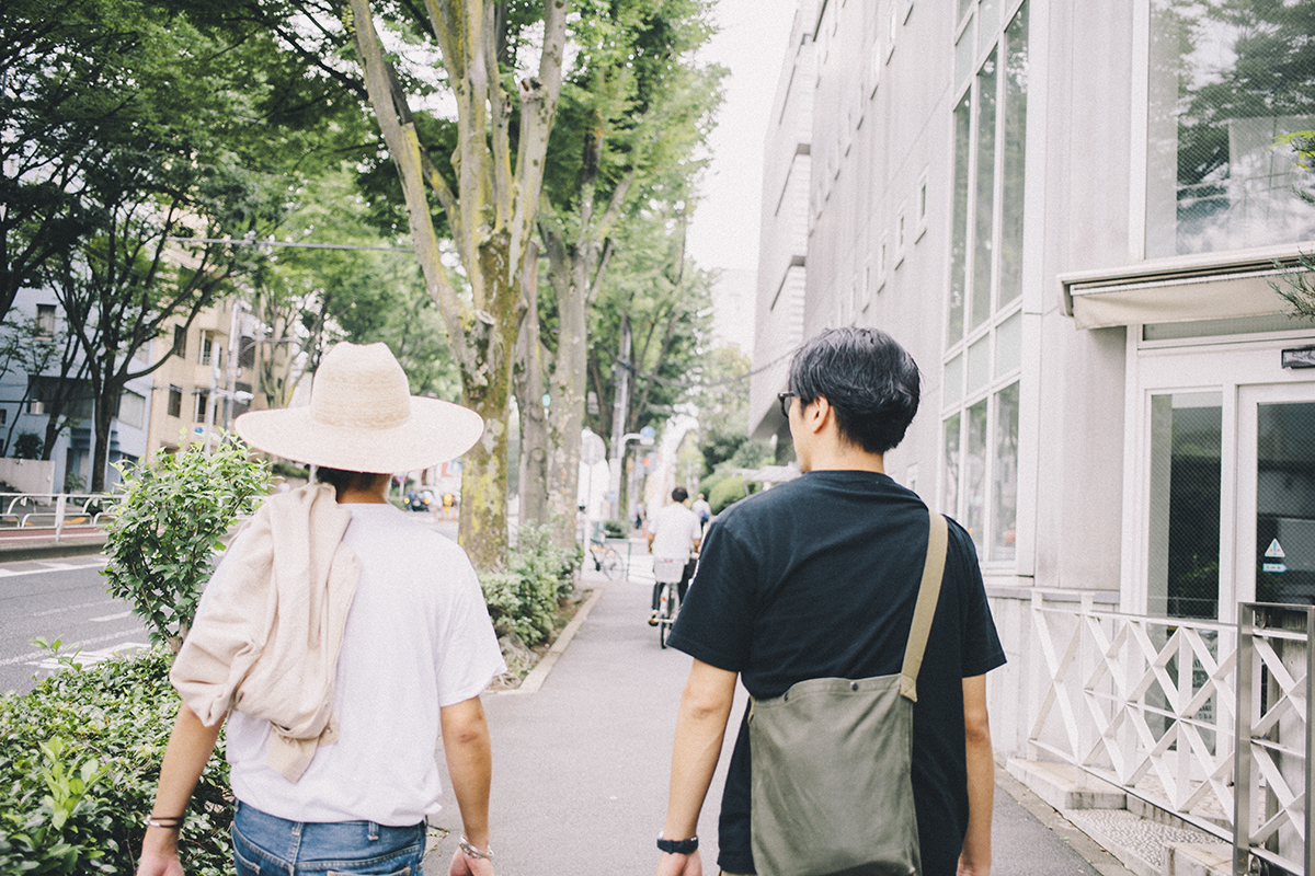 代々木上原 GMT 三浦由貴さんと編集長