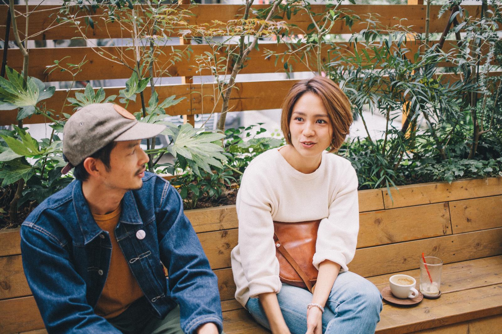 パドラーズコーヒー 松島大介さんと食育インストラクター和田明日香さん