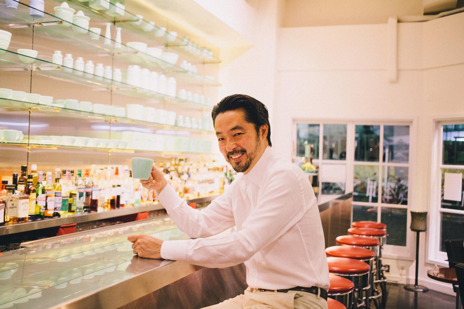 代々木上原 ファイヤーキングカフェ オーナー阿部さん