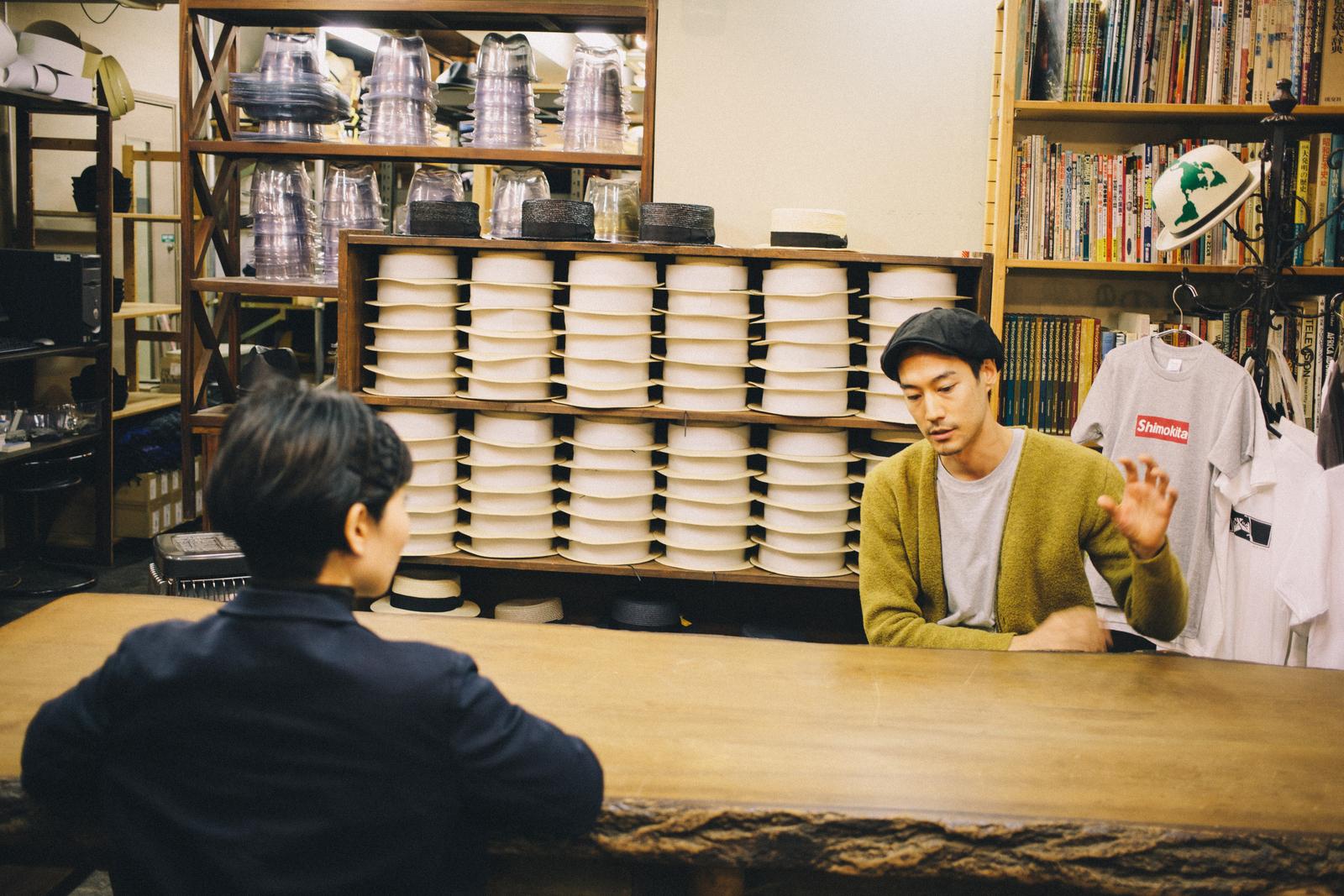 代々木上原の帽子屋 スタジオトムス 淺野さん