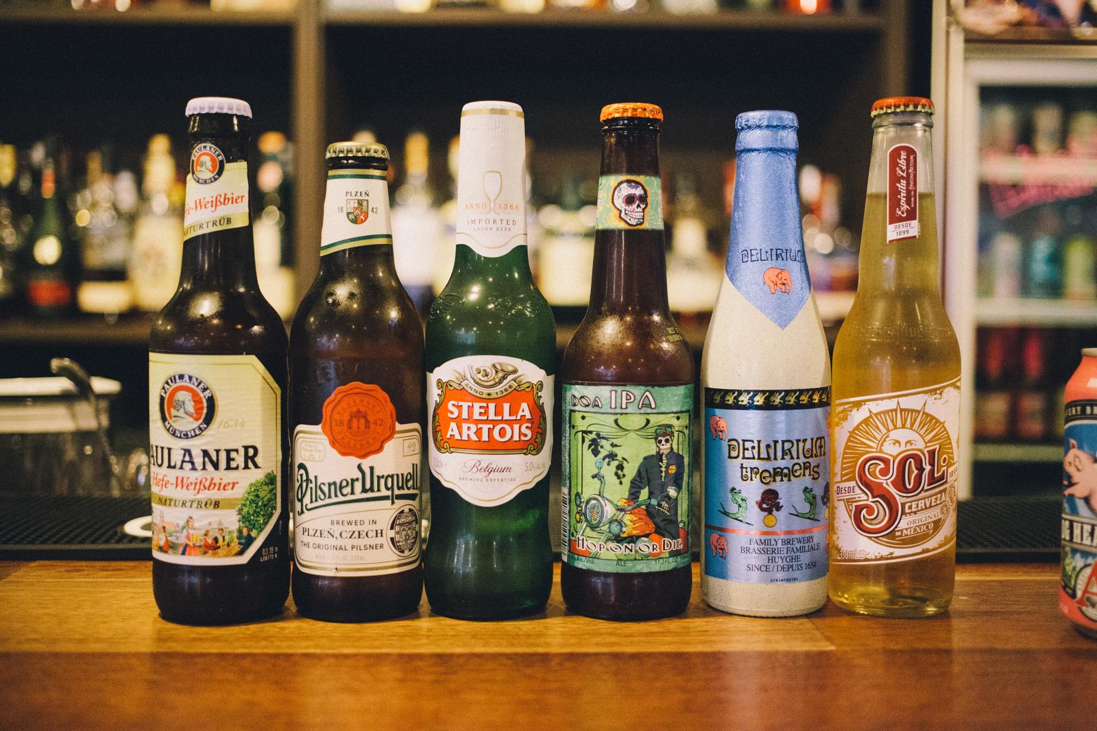 代々木上原 THE GRUBのボトルビール