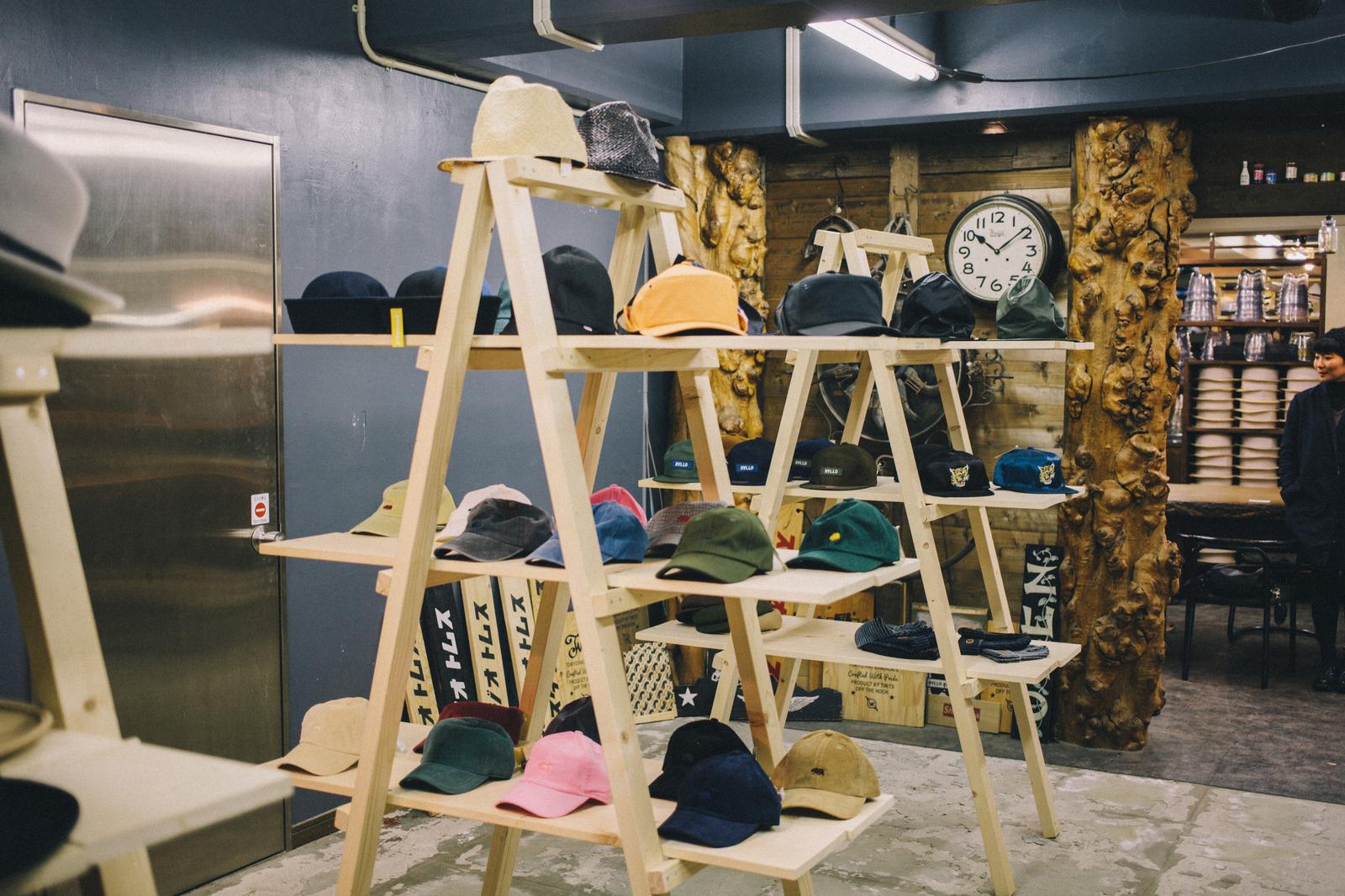 代々木上原の帽子屋 スタジオトムス