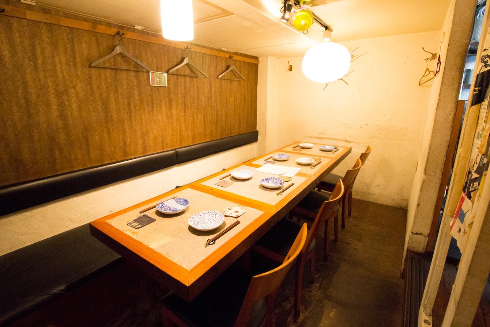 代々木上原 酒場 まるしゑ テーブル席
