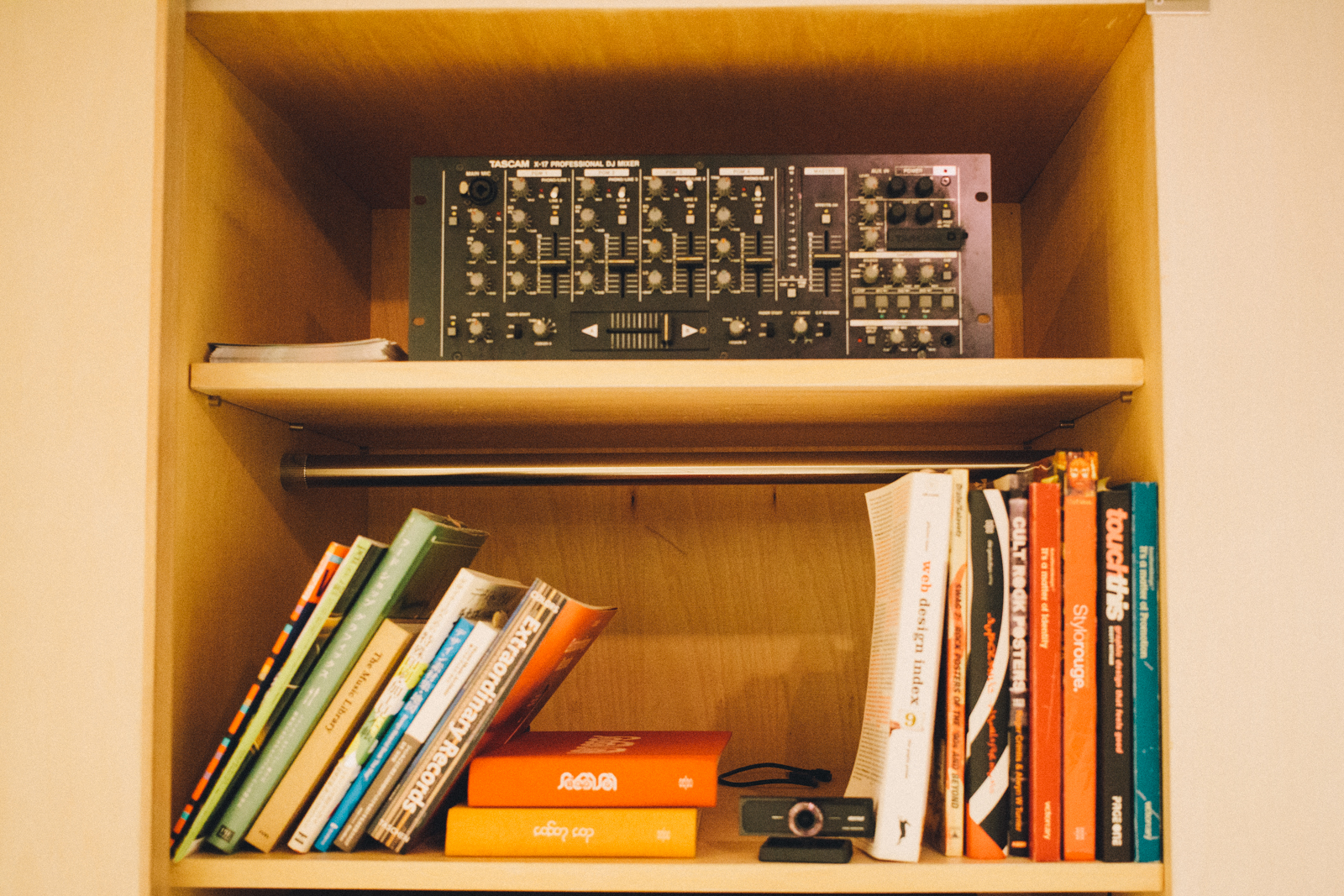 代々木上原 QRATES レコード制作や音楽メディアを手がける TDMS inc. オフィス