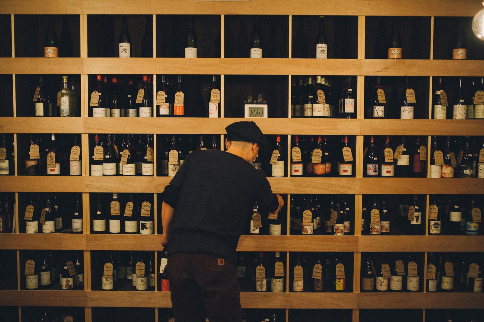 代々木上原 西原 幡ヶ谷 自然派ワイン ヴァン・ナチュール  ワインショップ flow