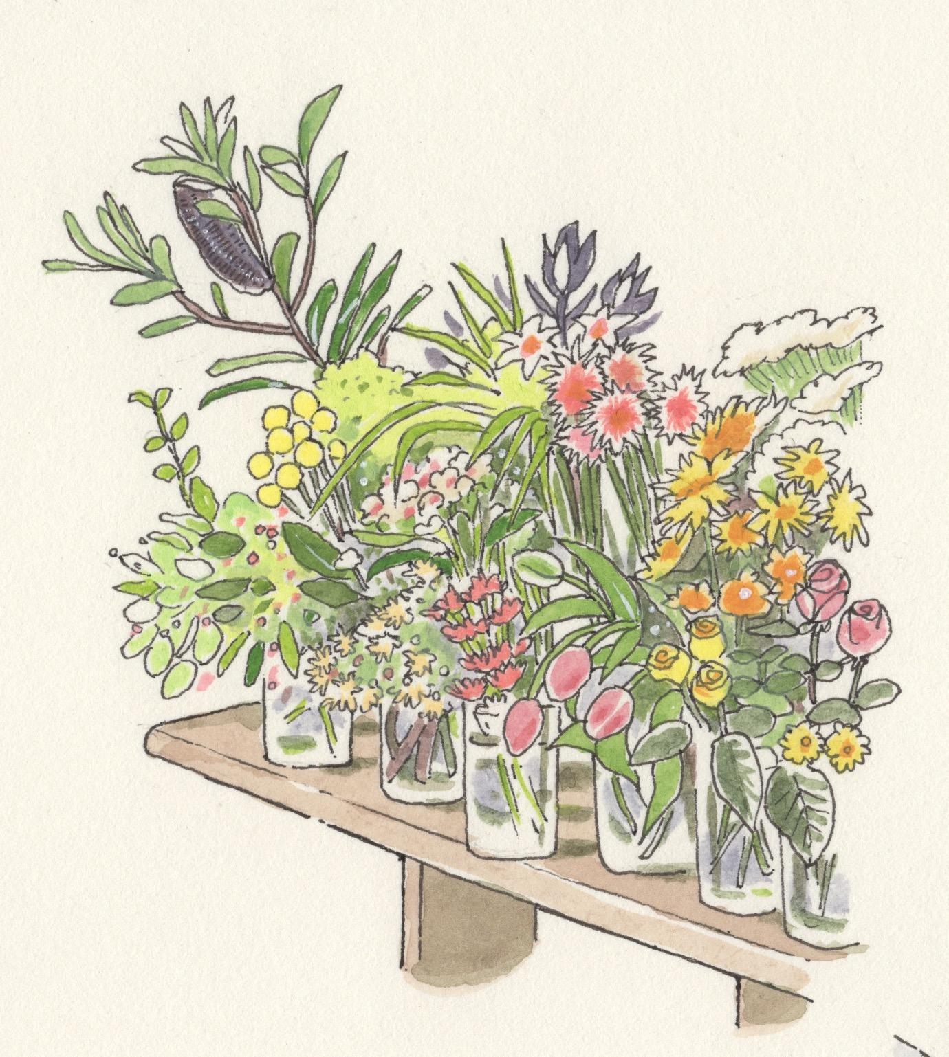 代々木上原、ex.flower shop & laboratory